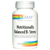 Nutritionally Balanced B-Stress · Solaray · 100 cápsulas