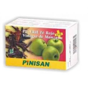 Vinagre de Manzana + Té Rojo · Pinisan · 60 cápsulas