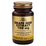 Extracto de Semilla de Uva 100 mg · Solgar · 30 cápsulas