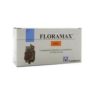 Floramax · Fharmocat · 10 viales