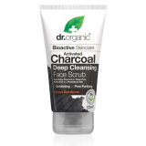Exfoliante Facial de Carbon Activo · Dr Organic · 125 ml
