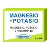 Magnesio + Potasio · Integralia · 60 cápsulas