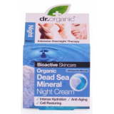 Crema de Noche Minerales del Mar Muerto · Dr Organic · 50 ml