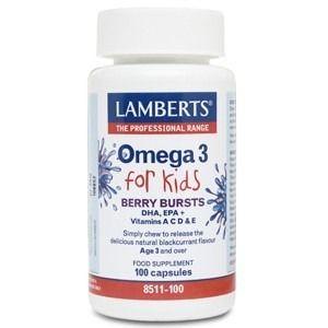 Omega 3 for Kids · Lamberts · 100 perlas