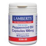 Aceite de Menta 100 mg  · Lamberts · 90 cápsulas