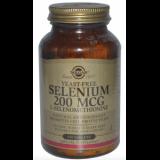 Selenio 200 mcg (Sin Levadura) · Solgar · 250 comprimidos