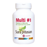Multi 1 - Vitaminas & Minerales · Sura Vitasan · 180 comprimidos