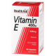 Vitamina E Natural 400 UI · Health Aid · 60 cápsulas