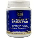 Nutrientes Completos Sabor Chocolate · GSN · 450 gramos