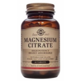 Citrato de Magnesio · Solgar · 60 comprimidos