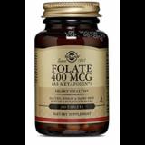 Folato (Metafolin®) 400 mcg · Solgar · 100 comprimidos