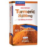 Cúrcuma 10.000 mg · Lamberts · 60 comprimidos
