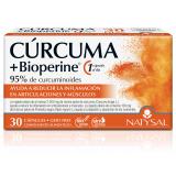 Cúrcuma + Bioperine · Natysal · 30 cápsulas