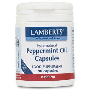 Aceite de Menta · Lamberts · 90 cápsulas