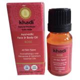 Aceite Corporal y Facial de Rosa · Khadi · 100 ml