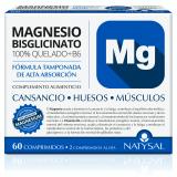 Magnesio Bisglicinato + B6 · Natysal · 60 comprimidos