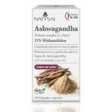 Ashwagandha · Natysal · 40 cápsulas