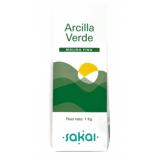 Arcilla Verde Fina · Sakai · 1 kilo