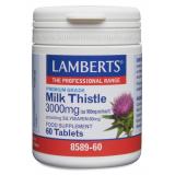 Cardo Mariano 3.000 mg · Lamberts · 60 comprimidos