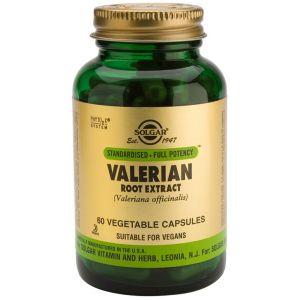 Valeriana Extracto de Raíz · Solgar · 60 cápsulas
