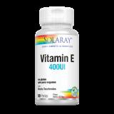 Vitamina E 400 UI · Solaray · 50 perlas