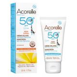 Crema Solar Bebé SPF50+ · Acorelle · 50 ml