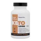 Keto Living Sugar Control · Nature's Plus · 90 cápsulas