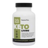 Keto Living Daily Multi · Nature's Plus · 90 cápsulas