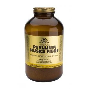Fibra de Cáscara de Psyllium · Solgar · 280 gramos
