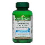 Glucosamina y Condroitina con MSM y Colágeno · Nature's Bounty · 100 comprimidos