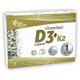 Vitaminas D3 + K2 · Pinisan · 60 cápsulas