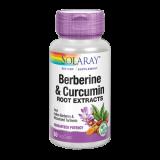Berberina & Curcuma · Solaray · 60 cápsulas