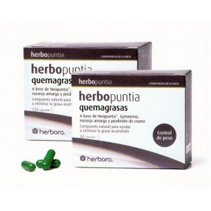 Herbopuntia Quemagrasas · Herbora