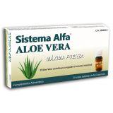 Sistema Alfa Aloe Vera · Pharma OTC · 20 viales