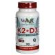 Vitamina K2 + D3 · VByotics · 100 perlas