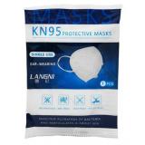 Mascarilla Facial Filtrante KN95 FFP2 · Envase de 1 unidad