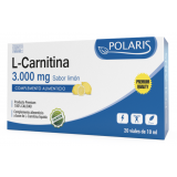 L-Carnitina 3.000 mg · Polaris · 20 viales