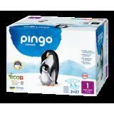 Pañales Ecológicos Talla 1 New Born · Pingo · 54 unidades