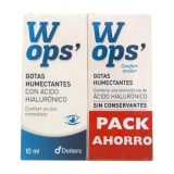 Pack WOPS Gotas Humectantes + Gotas Humectantes sin Conservantes · Deiters