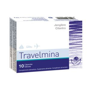 Travelmina · Bioserum · 10 cápsulas