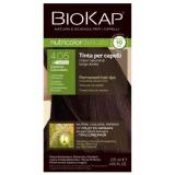 Biokap Nutricolor Delicato Rapid 4.05 Castaño Chocolate · Biokap · 135 ml