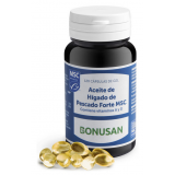 Aceite de Hígado de Pescado Forte MSC · Bonusan · 120 perlas