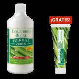 Pack Colutorio Bucal Herbal Zero% + Pasta Dental Herbal GRATIS · Natysal