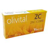 Olivital 5 ZC - Zinc y Cobre · Vital 2000 · 40 cápsulas