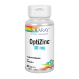 Optizinc · Solaray · 60 cápsulas