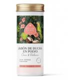 Jabón de Ducha en Polvo Coco & Hibisco · Eliah Sahil · 90 gramos
