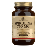 Spirulina 750 mg · Solgar · 80 cápsulas