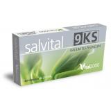 Salvital 9 KS - Kalium sulphuricum · Vital 2000 · 40 cápsulas