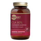 CLA 80% (Ácido Linoléico Conjugado) · Waydiet · 60 perlas