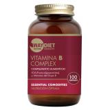 Vitamina B Complex · Waydiet · 100 comprimidos